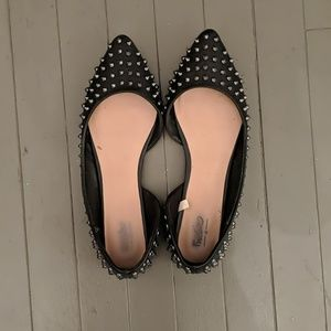Mossimo Supply Co. Shoes - Mossimo d'orsay studded flats